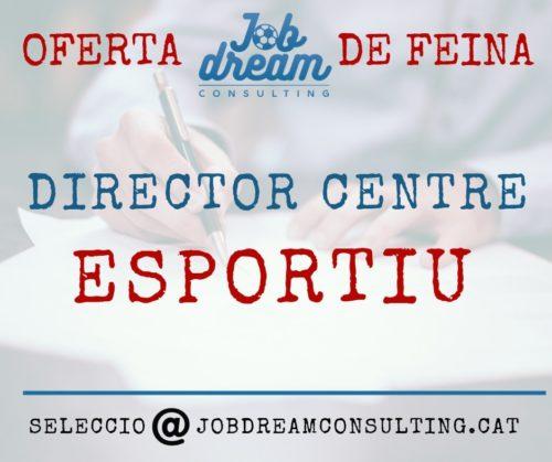 Director centre esportiu.