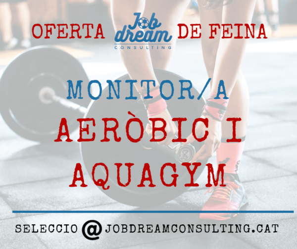 Monitor Aeròbic i Aquagym