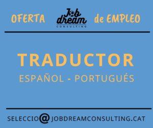 oferta de empleo traductor
