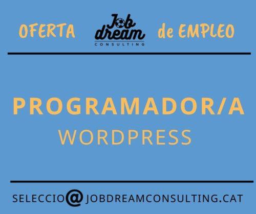 Programador WordPress – Job dream