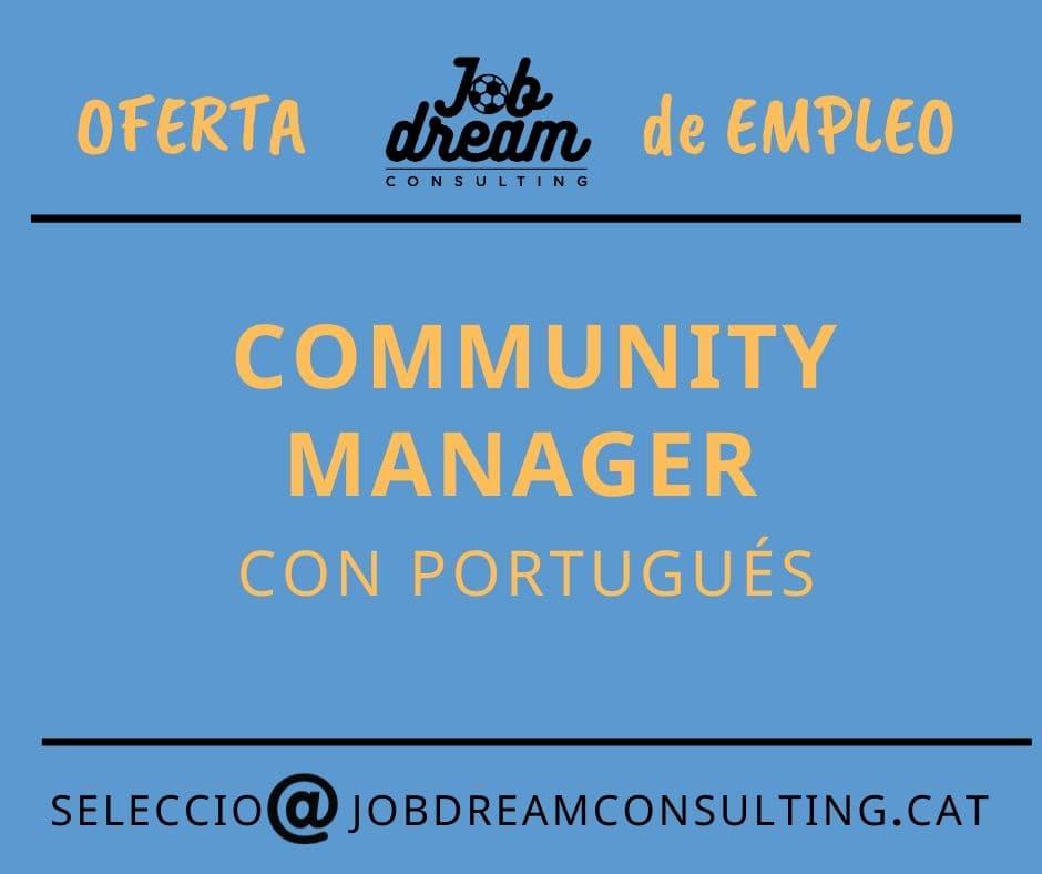 Community manager con portugués – Job dream