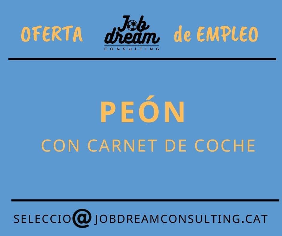 Peón – Job dream