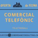 oferta de feina comercial telefònic