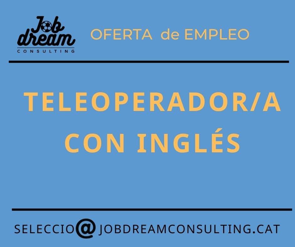 Teleoperador con inglés