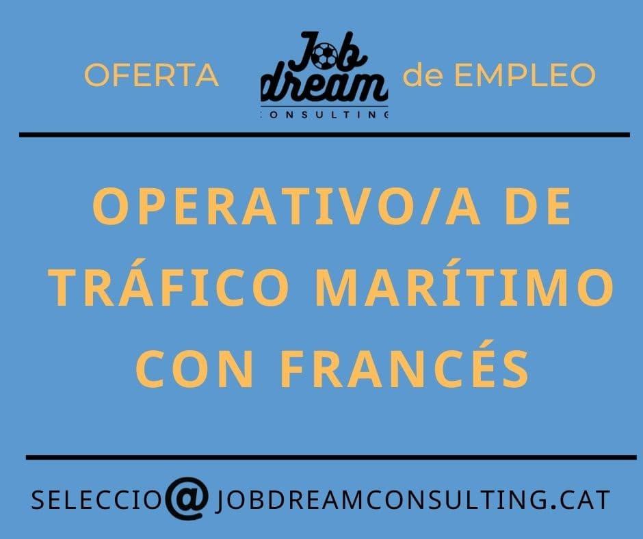 operativo de tráfico marítimo